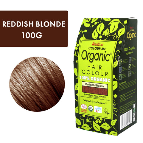 Radico Colour Me Organic Reddish Blonde