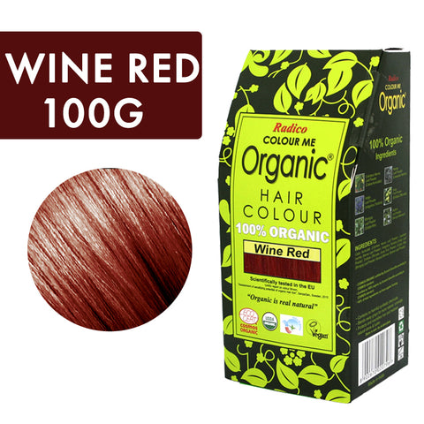 RADICO ORGANIC HAIR COLOUR Wine Red