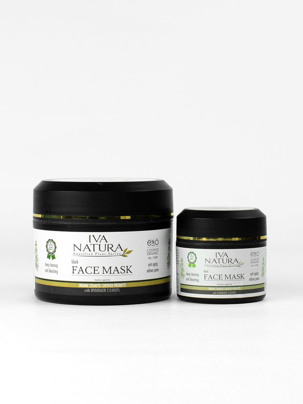IVA NATURA Black Face Mask