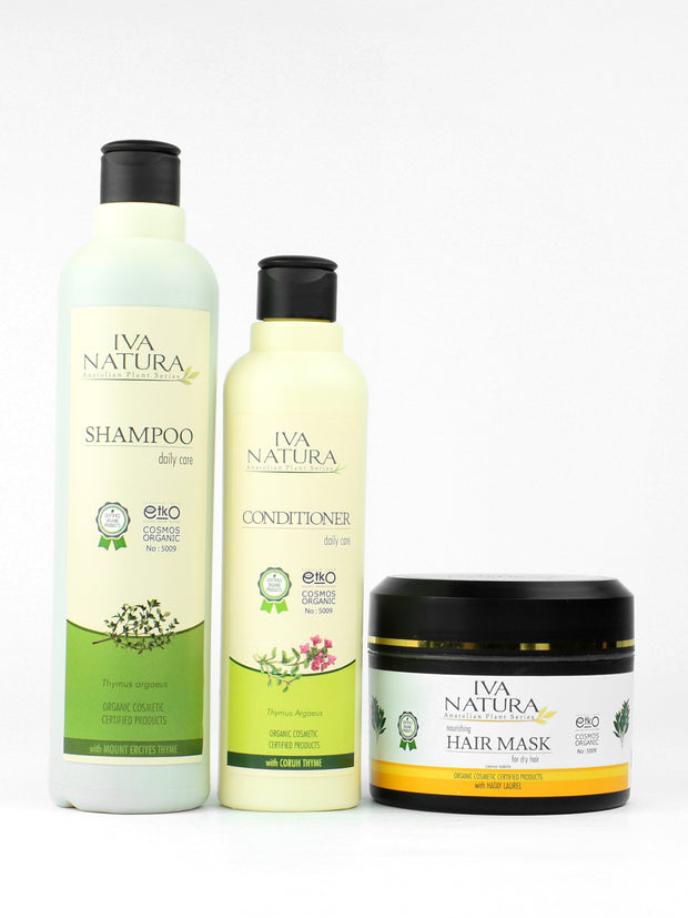 Organic Hair Essentials Bundle