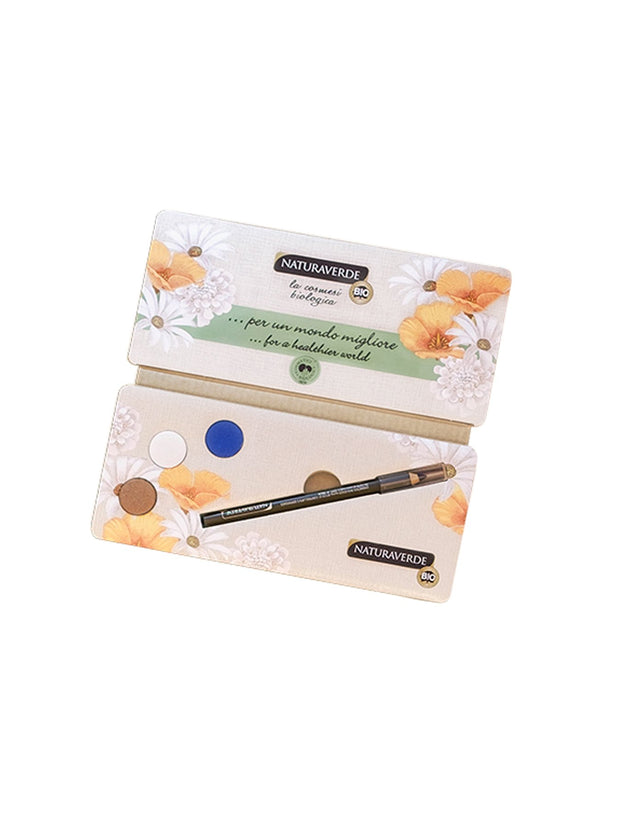 NATURAVERDE Colorful Eye Kit (Eyeshadow + Eye Pencil)