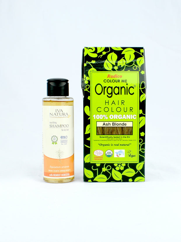 Organic Hair Color & Shampoo Duo