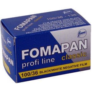 Fomapan 100, Black and White Film, 35mm - 36exp. - Probst Camera Inc.