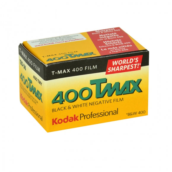 Kodak T-Max 400, Black and White Film, 35mm - 36exp. - Probst Camera Inc.