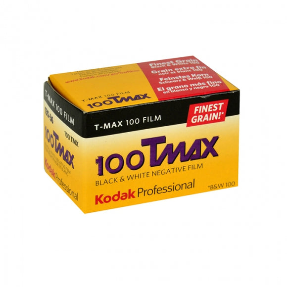 Kodak T-Max 100, Black and White Film, 35mm - 36exp. - Probst Camera Inc.