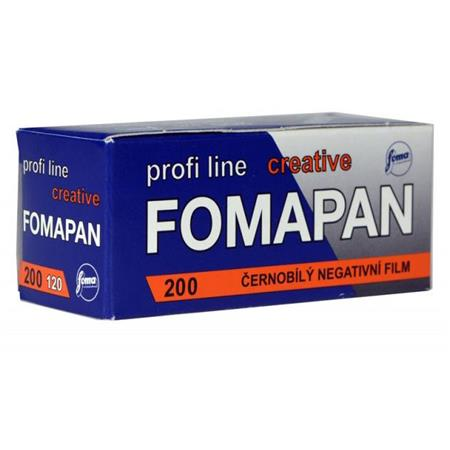 Fomapan 200, Black and White Film, 120 - Probst Camera Inc.
