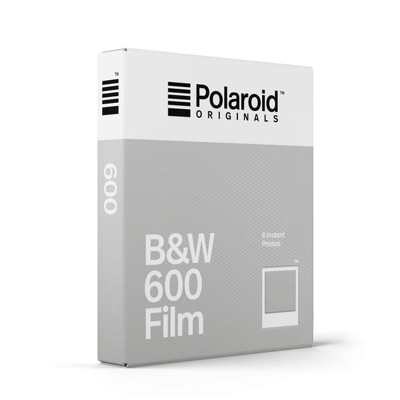 Polaroid 600 Instant Film, Black and White, 8exp. - Probst Camera Inc.