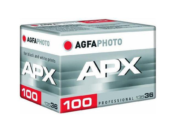 Agfa APX 100, Black and White Film, 35mm - 36exp. - Probst Camera Inc.