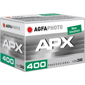 Agfa APX 400, Black and White Film, 35mm - 36exp. - Probst Camera Inc.