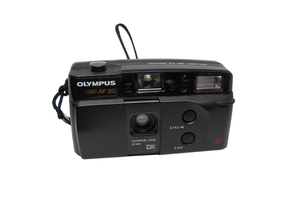 Olympus Trip AF 20, 35mm Camera - Probst Camera Inc.