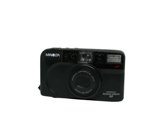 Minolta Freedom Action Zoom 90, 35mm Camera - Probst Camera Inc.