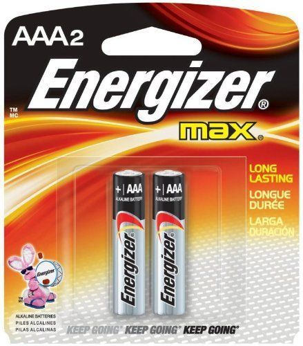 Energizer MAX, AAA Batteries, 2 Pack - Probst Camera Inc.