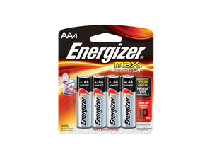 Energizer MAX, AA Batteries, 4 Pack - Probst Camera Inc.
