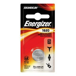 Energizer MAX, CR-1620 Battery, 1 Pack - Probst Camera Inc.