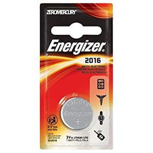 Energizer MAX, CR-2016 Battery, 1 Pack - Probst Camera Inc.