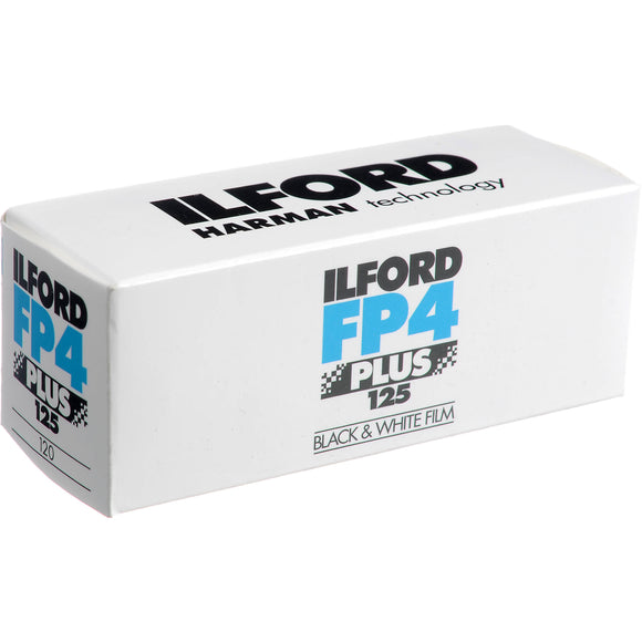 Ilford FP4+ 125, Black and White Film, 120 - Probst Camera Inc.