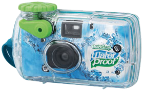 Fujifilm QuickSnap Waterproof Color, Single Use Camera - Probst Camera Inc.