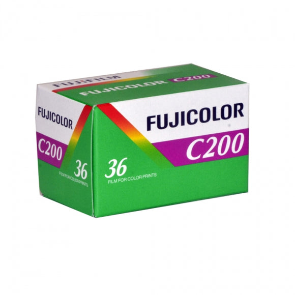 Fujifilm C200, Color Negative Film, 35mm - 36exp. - Probst Camera Inc.