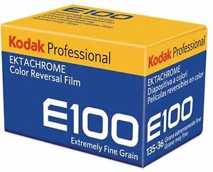 Kodak E-100, Color Transparency Film, 35mm - 36exp. - Probst Camera Inc.
