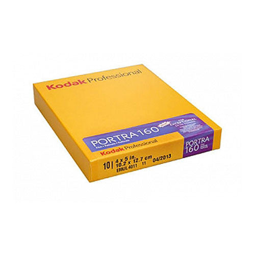 Kodak Portra 160, Color Negative Sheet Film, 4x5 (10 Pack) - Probst Camera Inc.