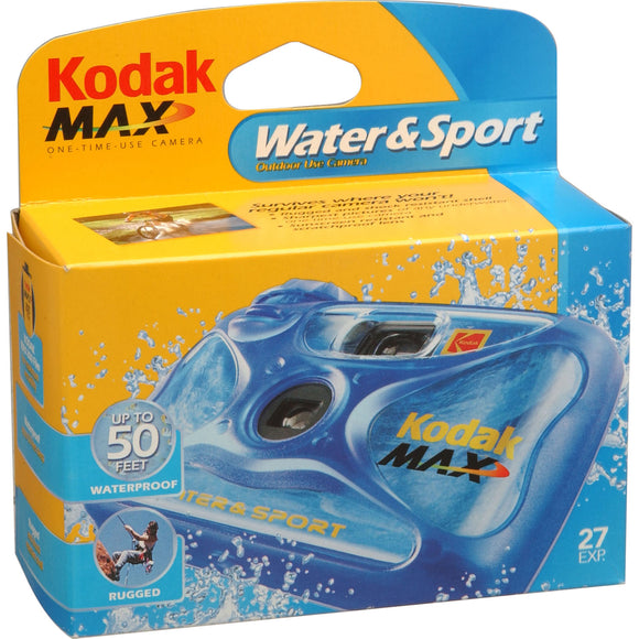 Kodak WaterSport Color, Single Use Camera, Waterproof - Probst Camera Inc.