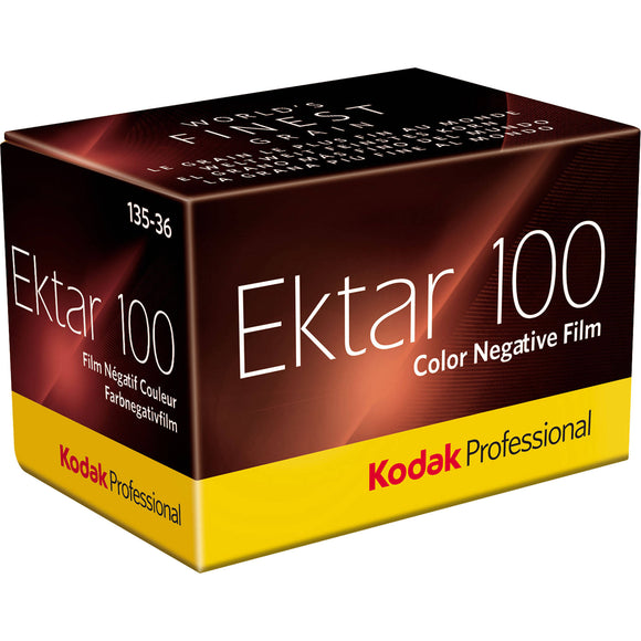 Kodak Ektar 100, Color Negative Film, 35mm - 36exp. - Probst Camera Inc.