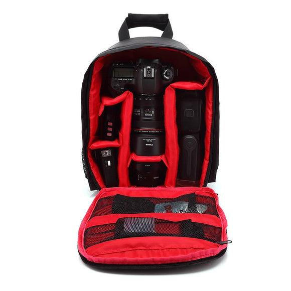 Camera Backpack, with Velcro Dividers for Camera and Lens Storage - Probst Camera Inc.