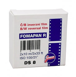 Fomapan R100, Black and White Reversal Film, Super 8mm - Probst Camera Inc.