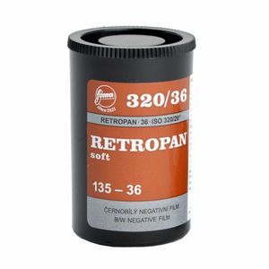 Foma Retropan 320 Soft, Black and White Film, 35mm - 36exp. - Probst Camera Inc.