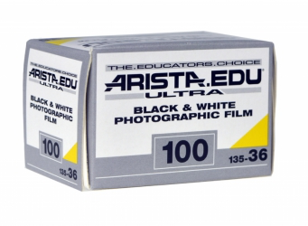 Arista.EDU Ultra 100, Black and White Film, 35mm - 36exp. - Probst Camera Inc.