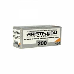 Arista.EDU Ultra 200 Black and White Film, 120 - Probst Camera Inc.