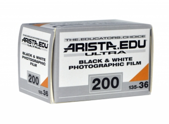 Arista.EDU Ultra 200, Black and White Film, 35mm - 36exp. - Probst Camera Inc.
