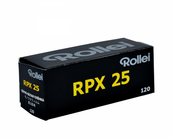 Rollei RPX 25, Black and White Film, 120 - Probst Camera Inc.