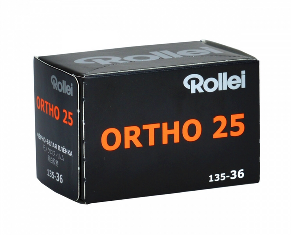 Rollei Ortho 25 Plus, Black and White Film, 35mm - 36exp. - Probst Camera Inc.