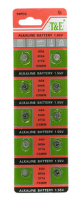 AG4 / LR626 / LR66 / 376 Battery (1.55v) - T&E - Probst Camera Inc.