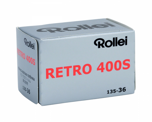 Rollei Retro 400s, Black and White Film, 35mm - 36exp. - Probst Camera Inc.