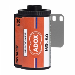 ADOX HR-50 with Speed Boost, Black and White Film, 35mm - 36exp. - Probst Camera Inc.