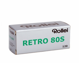 Rollei Retro 80s, Black and White Film, 120 - Probst Camera Inc.