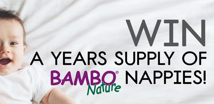 WIN A YEARS SUPPLY OF BAMBO NATURE NAPPIES!