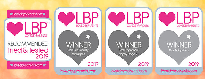 Bambo Nature Wins @ The Loved By Parents Awards 2019