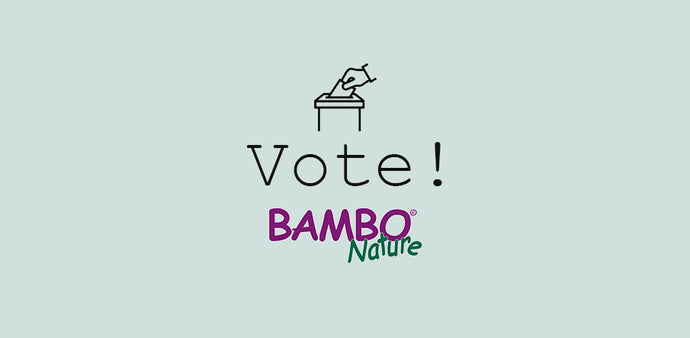 Vote for Bambo Nature Nappies and Wipes!
