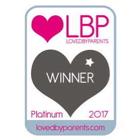 Loved By Parents 2017 Platinum Award