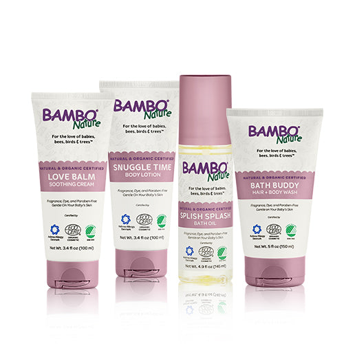 Bambo Nature Baby Skincare Bundle