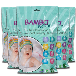 Bambo Nature Travel Packs x5