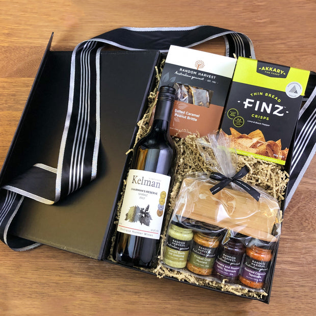 Wine And Gourmet Gift Box
