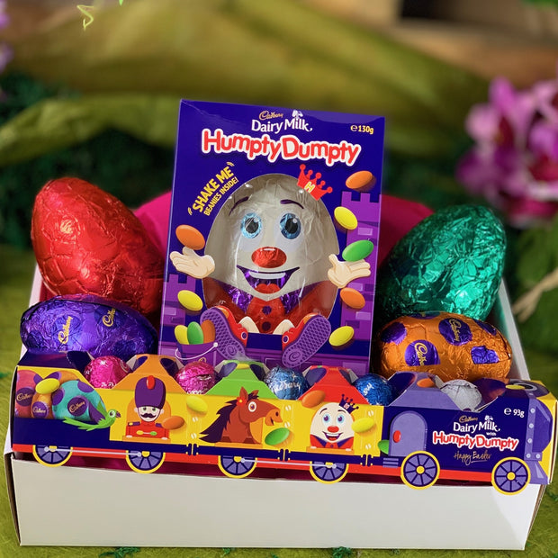 Humpty Dumpty Happy Easter Express Train Tray
