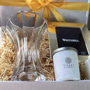 Settlement Crystal Vase And Frame Gift Box