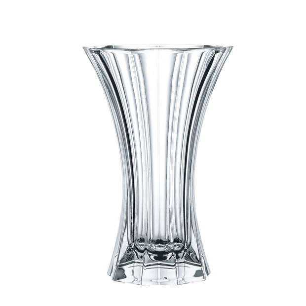 Corporate Crystal Vase In Keepsake Suitcase