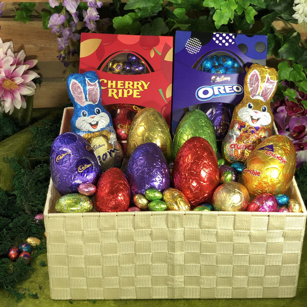 Large Easter Wonders Woven Basket