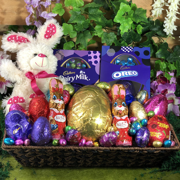 Extra Large Easter Delights Tone Basket